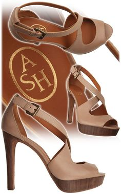 Spring - Summer 2012  100% Leather Wood  Clay  Heel  12 cm (4 3/4 inches)