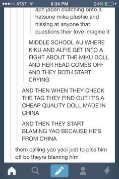 ((Can we just have this Hetalia middle school AU now? It sounds so precious.))