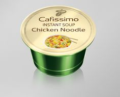 Novinka Cafissimo Souptime!!! Coffee Cans, Noodles, Soup, Canning, Chicken, Drinks, Macaroni, Drinking, Beverages