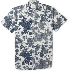 Saturdays Surf NYC Esquina Floral-Print Cotton Shirt | MR PORTER