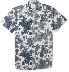 Saturdays Surf NYC Esquina Floral-Print Cotton Shirt | MR PORTER