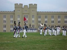 VMI--Lexington, VA - Next Door to Washington and Lee.  Visited this campus.
