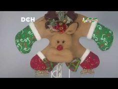 Silvia Nieruczkow enseña a hacer la cabeza y cara de una muñeca soft. Visitá www.bienvenidas.com Christmas Decorations, Christmas Ornaments, Holiday Decor, Primitive Doll Patterns, Reno, Reindeer, Christmas Time, Youtube, Videos