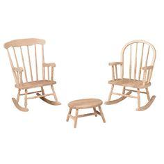 Childrenu0027s Furniture   Rocking Chairs   Windsor Rocker, Boston Rocker,  Cricket Stool
