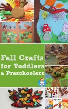 As the weather grows cooler the leaves are already starting to turn, I think we're heading for an early Autumn this year so it's the perfect time to round up some wonderful Autumn and fall crafts for toddlers and preschoolers.