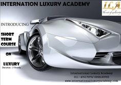 Coming Up with new Batch for Luxury Management Courses with Top Brands.