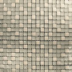 Sample- White Marble Glass Blend Mosaic Tile For Kitchen Backsplash Bath Sink Mosaic Glass, Mosaic Tiles, Wall Tiles, Bathroom Wall, Kitchen Backsplash, White Marble, Home Improvement, Sink, Home And Garden