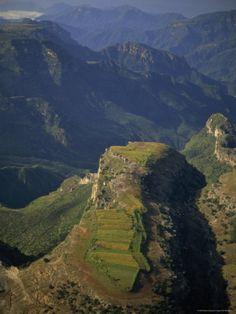 Tarahumara indian farm,Copper Canyon, Chihuahua