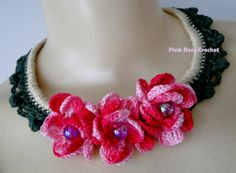Colar Cybele - Crochet Necklace ~ Inspiration