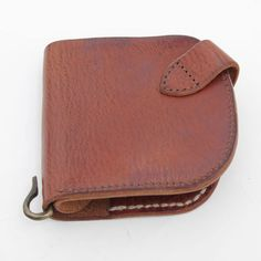Leather Wallet with Coin Pouch 4