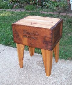 Shipping Crate TABLE Explosives Dynamite Box by MrsRekamepip, $160.00