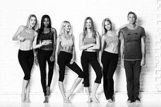 Doutzen Kroes, Candice Swanepoel, Behati Prinsloo TR, Erin Heatherton and Russell James