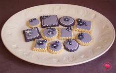 Resultado de imagen de galletas color lila