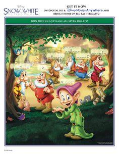 Disney Snow White: Can You Name All Seven Dwarfs?