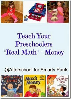 Afterschool for Smarty Pants: Resources to Teach Preschoolers About Money