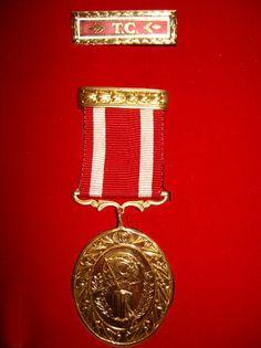 Türkiye Cumhuriyeti Devlet Övünç Madalyası / State Medal of Pride of the Republic of Turkey