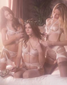 Lacy Lingerie  Agent Provocateur Summer 2012 Collection - Wedding Party  Luxury Lingerie 21776bf0d