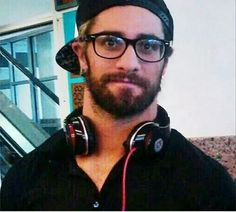 Seth in his glasses. So cute!
