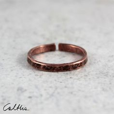 Irregular - adjustable copper ring, unisex open cuff ring, wide metal mens ring, minimalist copper ring for men, simple metal band ring Sterling Silver Mens Rings, Copper Rings, Silver Rings, Copper Bracelet, Brass Jewelry, Metal Bands, Minimalist Jewelry, Band Rings, Rings For Men