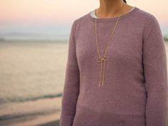 Rose colored sweater | polka dot popover | bow necklace | boyfriend jeans | grey ballet flats | www.shoppingmycloset.com          @target #target @gap #gap @jcrew #jcrew