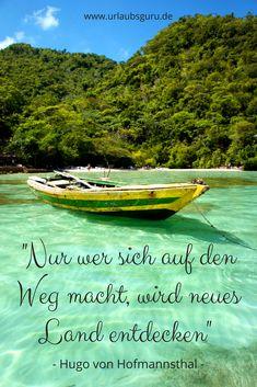 Macht euch auf den Weg und entdeckt die schönsten Ziele unserer Welt! Inspiration findet ihr in meinem Reisemagazin.