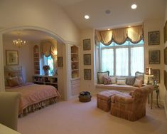 Bedroom English Country Decorating Style Design, Pictures, Remodel, Decor and Ideas -