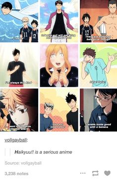 Haikyuu!! | got a love this serious anime