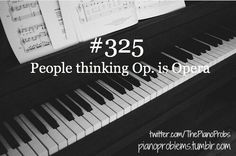 Many people find piano lessons quite expensive and because of this, a lot of would-be pianists pass the opportunity to become one of the best in the music industry. Playing the piano is a skill that can developed through time. Piano Memes, Piano Quotes, Music Jokes, Music Humor, Funny Music, Piano Funny, Flute Jokes, Band Jokes, Instruments