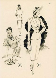 Lutterloh 1949 Book Models 48 & 49