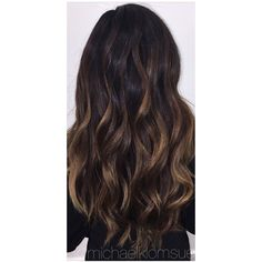 Brunette Balayage Hair ❤ liked on Polyvore featuring women's fashion, accessories and hair accessories