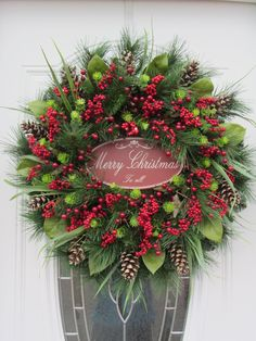 Christmas Door Wreath -