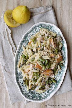 Spargel-Lachs-Pasta von @YvonneErfurth