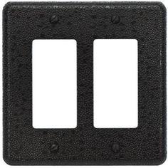 Atlas Homewares / Olde World Switch Plates / Olde World Double Rocker Switch Plate