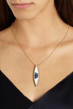 eye necklace @paulajor