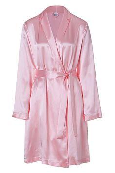 Lovely Pink Robe, Satin