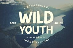 Wild Youth Typeface by ilhamherry on Creative Market
