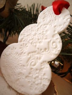 Prickley Salt Dough Ornament