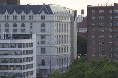 Federal Building & Post Office and Concord Village from rooftop, 250 Gold Street, Brooklyn