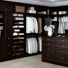Custom Embled Closets By Technik Cabinetry System Ships In 7 10 Days Master Closet
