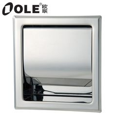 Free Shipping Good Design Stainless Steel Recessed Toilet Paper Holder