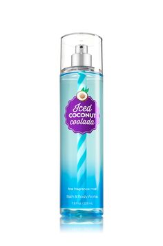 Iced Coconut Coolada Fine Fragrance Mist - Signature Collection - Bath & Body Works