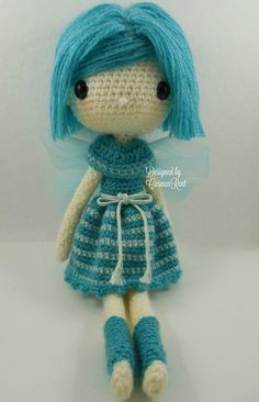 Fairy Kathy 13Amigurumi Doll Crochet Pattern by CarmenRent on Etsy