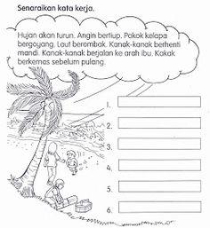 KSSR Bahasa Malaysia Tahun 1: November 2011 Malay Language, Kids Story Books, Activities For Kids, Homeschool, November, Templates, Education, School Kids, Schedule