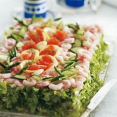 Fiskelagkage - en hæmningsløs lagkage af brød og fisk opskrift