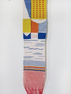 Hannah Waldron weaving