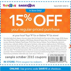 Babies R Us Coupons Promo Coupons will expired on MAY 2020 ! About Babies R Us From apparel to specialty furniture, toys, car seats . Free Printable Coupons, Free Printables, Dollar General Couponing, Toys R Us Kids, Hobby Lobby Wedding Invitations, Coupons For Boyfriend, Toy R, Love Coupons, Grocery Coupons