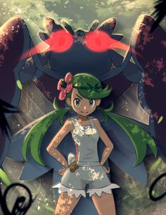 Anime Pokémon : Illustration Description Pokémon sun and moon Mallow Pokemon Moon, Pokemon Fan Art, Lulu Pokemon, Pokemon Girls, Pokemon People, Pokemon Stuff, Pikachu, Pokemon Mallow, Manga