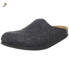 Birkenstock Amsterdam Clog,Anthracite,39 N EU - Birkenstock mules and clogs for women (*Amazon Partner-Link)