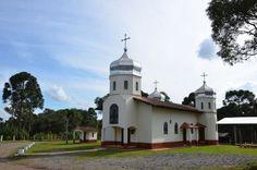 Igreja ucraniana da comunidade de Mico Magro, em Antônio Olinto