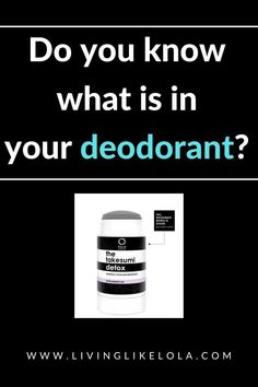 Natural deodorants that actually works! Top 4 healthy and safe deodorant brands. Clean beauty. Organic beauty brands